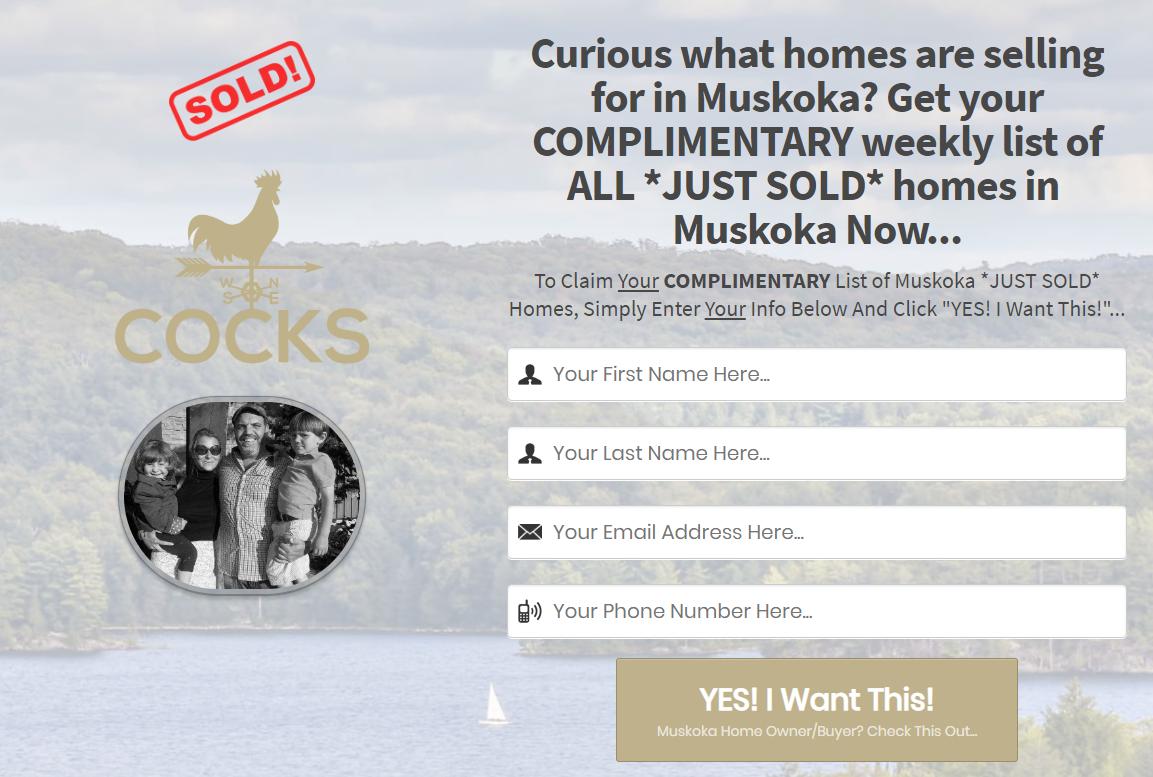 Just Sold Muskoka